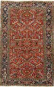 Antique Persian Red Heriz
