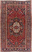Outstanding Antique Heriz Rug