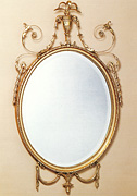 Adam Design Oval Mirror