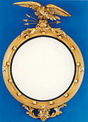 Girandole Mirror with Eagle