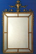 Formal Paneled Mirror