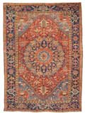 Oriental Antique Heriz Rug
