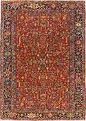 Persian Antique Heriz Rug