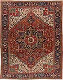 Persian Heriz Antique Rug