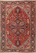 Flawless Antique Persian Heriz Rug