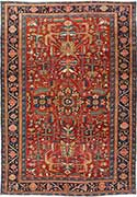 Gorgeous Antique Heriz Oriental Rug