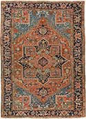 Heriz Antique Oriental Rug