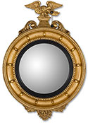 Girandole Bulls Eye Mirror