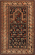 Kuba Chichi prayer rug