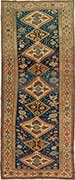 Antique Shirvan Caucasian Oriental Rug