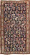 Antique Shirvan Oriental Runner Rug