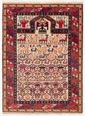Shirvan prayer Rug with hands