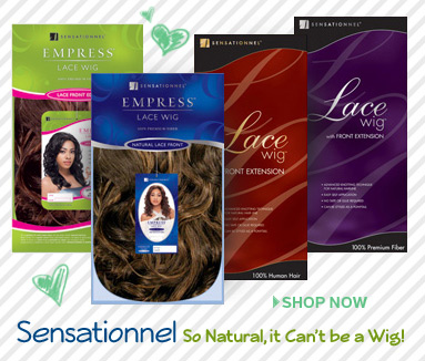 Sensationnel Lace Wig Collection with a Natural Lace Front