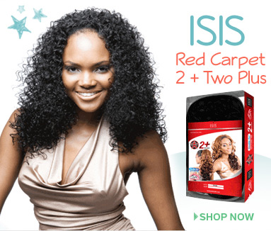 ISIS Red Carpet Premiere Premium Synthetic Hair 2+Half Wig + Pony Tail