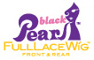 Black Pearl Full Lace Wig Hand Made