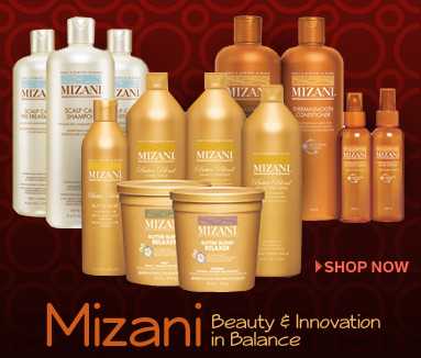 Styling & Treatments For Natural Curly & Wavy African-American Hair by Mizani