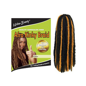 Urban Beauty Beauti Collection Kanekalon Fiber Afro Kinky Braid