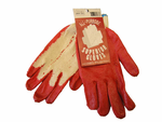Red Dipped Gloves 10 Pack