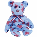 TY Beanie Babies Union the Bear - USA Exclusive