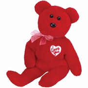 TY Beanie Babies Secret the Valentine Bear