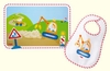 Haba Construction Site <br>Bib and Placemat