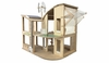 Plan Toys <br>Green Dollhouse <br>without furniture