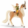 Schleich Fantasy <br>Male Elf on Forest Unicorn