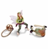 Schleich Fantasy <br>Forest Elf Riding Set