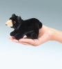 Folkmanis Puppet <br>Mini Black Bear