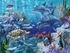 Ravensburger <br>Floor Puzzle<br>Sea Life