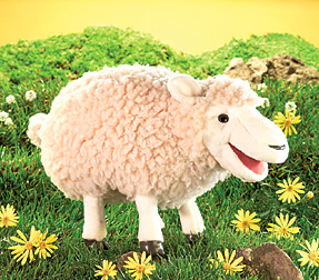 Folkmanis Puppets Woolly Sheep
