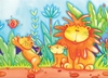 Ravensburger <br>35 Piece Puzzle <br>Adorable Lions