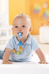 HABA Baby <br>Pacifier Chain <br>Jungle Caboodle
