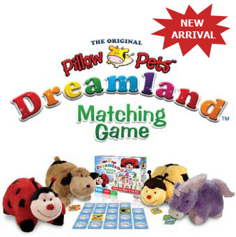 Pillow Pets Matching Game