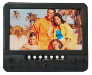 "7"" Portable LCD TV Digital Handheld HDTV with ATSC Tuner"
