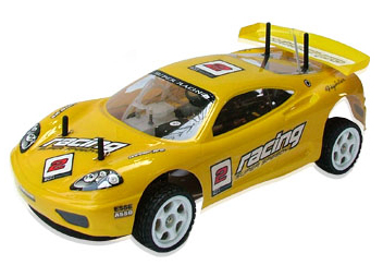 Nitro Gas 4WD On-Road Racing Car Winner Pro RC 1/10 RTR 50mph 2-Speed Racer with Starter Kit