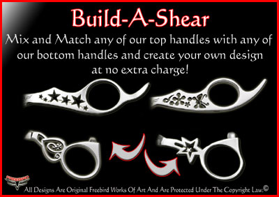 Build Your own professional CUSTOM Hair Shear or Grooming Shear