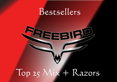 Top 25 Mix and Matching Razors
