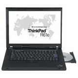 1.86GHz ThinkPad Intel® Celeron™ CD-RW/DVD Wireless Notebook - (R61e)