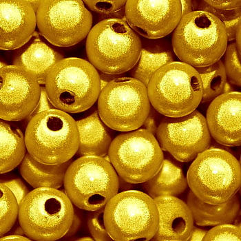 Miracle Beads: Yellow Gold (4mm)
