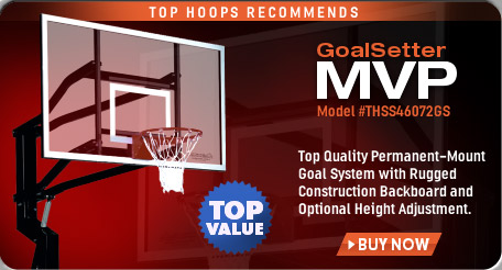 GoalSetter MVP Outdoor Basketball Hoop