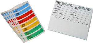 LL-1 Reloading Labels Rifle & Handgun