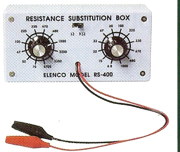 K-37 RESISTOR SUBSTITUTION BOX