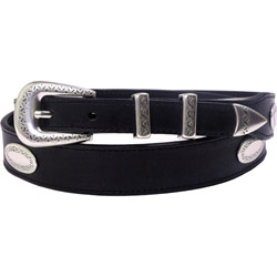 Nocona Black Concho Belts