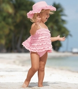 Kate Mack *Dipped in Ruffles* Tankini Swim Suit- Sizes 6month ONLY
