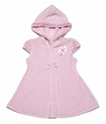 Kate Mack *Dipped in Ruffles* Terry Cover-up - 12m and 2t Left only
