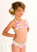 Kate Mack *Summer Petals*  Two Piece Swimsuit - Sizes 4 to 6X