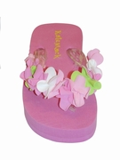 Kate Mack *Summer Petals* Girls Flip Flops