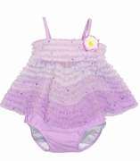 Kate Mack *Enchanted Orchid* Ruffled 2 Piece Swimsuit-Sold Out