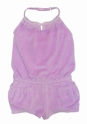 Kate Mack *Enchanted Orchid* Terry Romper- Size 7 Left Only!